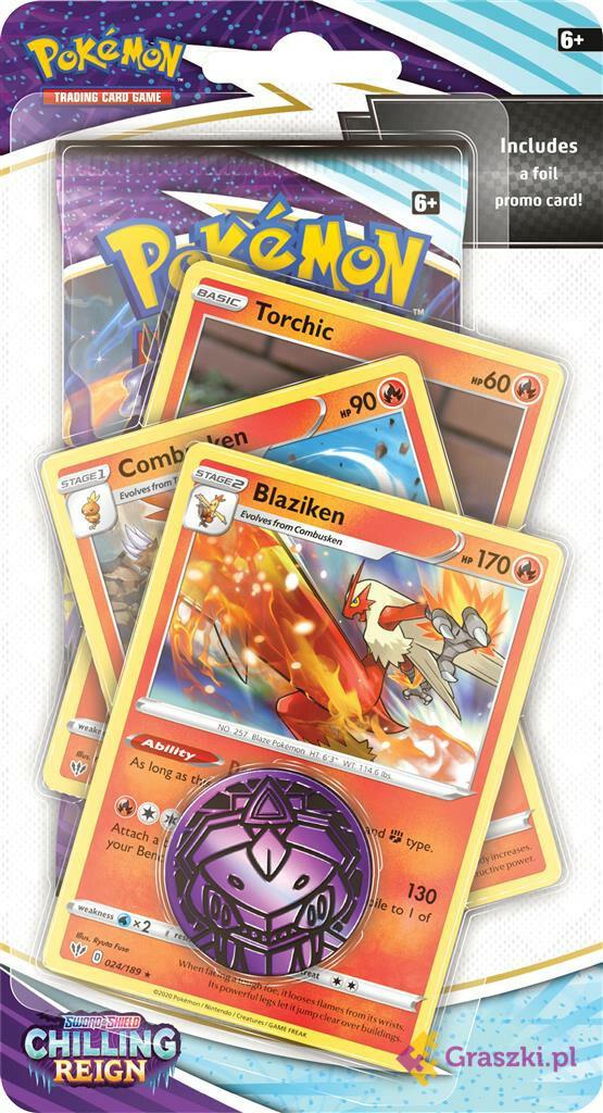 Pokémon TCG: Chilling Reign Premium Checklane Blister Blaziken